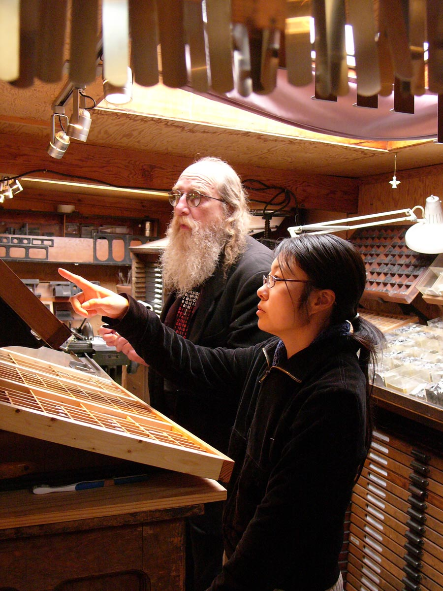 Richard Siebert & Li Jiang setting 12-point Heraklit Classical Greek from Hermann Zapf