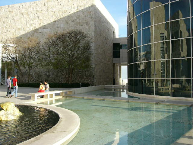 Getty Museum. Fountain.
